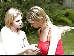 Teens Lesbian Blonde Blonde Caucasian Lesbian Licking Vagina Masturbation Oral Sex Outdoor Piercings Position 69 Shaved Strap-on Tattoos Teen Vaginal Masturbation