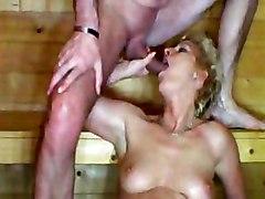 hardcore blowjob mature small tits blonde