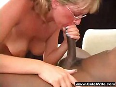 hardcore blonde interracial milf blowjob mature glasses pussylicking pussyfucking