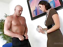 Big Cock Office blowjob milf