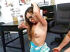 Office Small Tits Teen