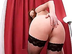 Bedroom Blowjobs Fishnet Hardcore Shaved Pussy Teen