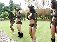 Big Ass Butts Military outdoor panties