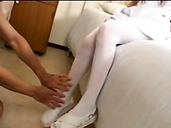 Foot Fetish Japanese Stockings
