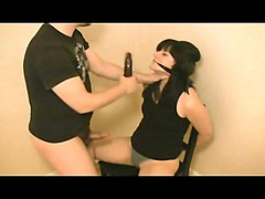 Amateur BDSM Facials
