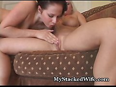 pussy big tits blonde lesbians brunette wife busty toys strapon eating gianna devon