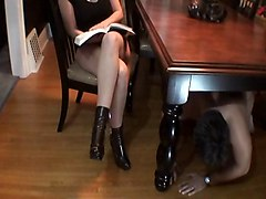 Cuckold Femdom Foot Fetish