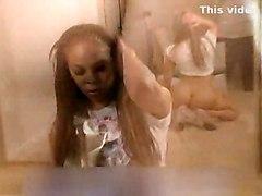 black amateur ebony solo blackwoman teasing bigass realamateur softcore mirror