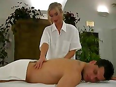 Massage Milf sexy blonde