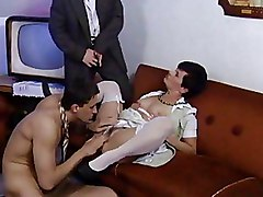 MMF Moms and Boys brunette non nude