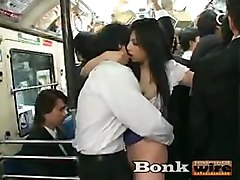 japanese asian train public avidol bonkwire amateu