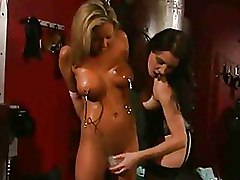 Big Tits Lezdom Torture
