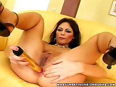 Neighbours Wife Using Her Vibrator