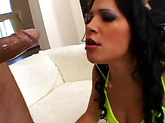 Anal Anal Masturbation Anal Sex Black-haired Blowjob Caucasian Couple Cum Shot Deepthroat Gagging High Heels Masturbation Oral Sex Pornstar Shaved Toys Vaginal Sex Rebeca Linares