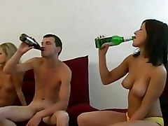 Babes Gaped At Party