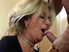 Big Tits Cougars Deep Throat