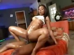 oiled ebony sex petite fatty butt
