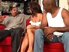 anal cumshot interracial blowjob brunette threesome asstomouth doublepenetration pussyfucking