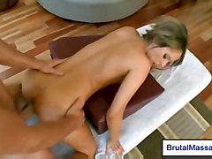 fucking hardcore blonde petite oil massage