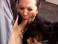 Cumshots Old+Young Threesomes