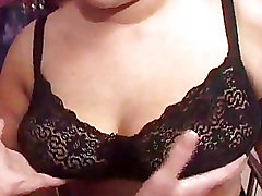 BBW Pick up lingerie smoking