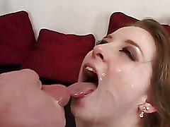 Chubby Facials cumshots riding dick sweet ass