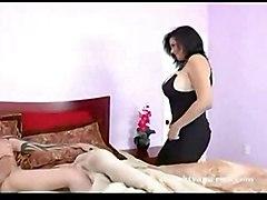 milf mature latina latin big tits blow job doggy style interacial