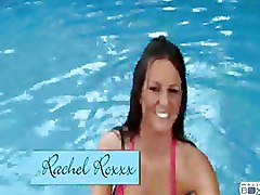 Blowjobs POV Pool bikini cock sucking oral sex