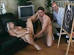Big Tits Cuckold Milf Riding