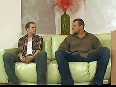 gay big cock ass sucked white sofa sodomize orgasms ejaculation muscle scream dad hetero