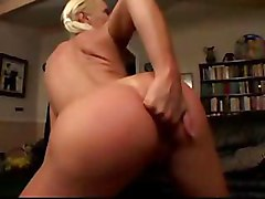 blonde tight dancing striptease lingerie teasing pussy rubbing blowjob anal hardcore couch doggystyle ass to mouth cumshot milf