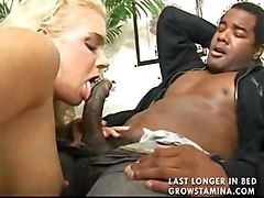 blond chubby interracial cocksuck big cock pussylick shaved busty