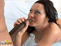 anal interracial oiled blowjob brunette bigass pussyfucking