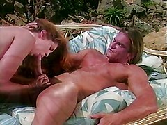 Extreme Hot Redhead Nailed Next The Pool