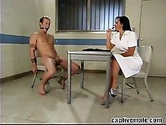 Femdom Ballbusting Cbt Beating Spanked Slave MistressCum Other Fetish Feet Extreme
