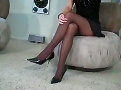 Playtime Pantyhose Stockings Tease Solo Masturbation StripSolo Big Boobs Softcore Babes