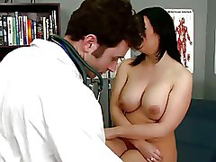 Big Tits Doctors blowjob boobs brunette busty doctor nurse oral pornstar