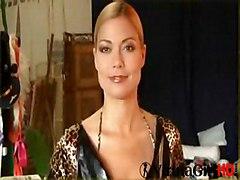 Blonde Lingerie Blonde Boots Caucasian Glamour Lingerie Solo Girl Striptease