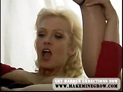 anal stockings cumshot blonde blowjob asstomouth pussyfucking fetish footjob feet