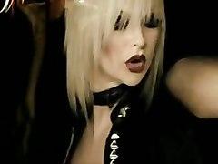 dancing blonde grinding striptease