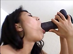 Asian Double Penetration Masturbation