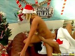 Wild & Crazy Blonde Blonde Caucasian Couple Funny Masturbation Shaved Spectacular Tattoos Toys Vaginal Masturbation Vaginal Sex