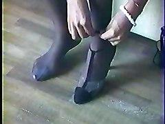 Amateur Foot Fetish Lingerie