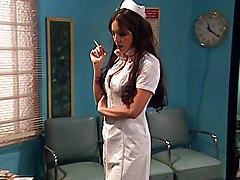 Big Tits Anal Anal Sex Big Tits Black-haired Blowjob Caucasian Couple Cum Shot Deepthroat Hospital Licking Vagina Nurse Oral Sex