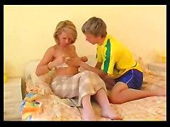 stockings cumshot hardcore blonde milf blowjob pussyfucking oldandyoung forher