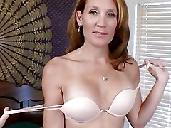 Petite Milf Fucks Her Rabbit Toy In Bed