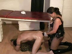 strapon asshole fisting hardcore sex doggy style