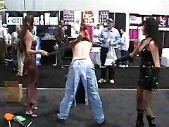 Cumshot Group POV Black-haired Brunette Caucasian Cum Shot Fetish Footjob Masturbation POV Piercings Spanking Threesome