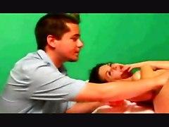 brunette shaved fingering squirting teens