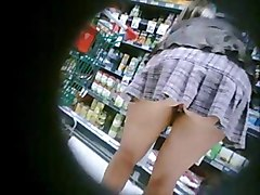 Xtina Burn Shopping No Panties